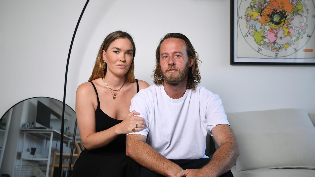 Kate Anderson and partner Chris Proud were heading home from Thirroul when disaster struck. Picture: NCA NewsWire/Joel Carrett