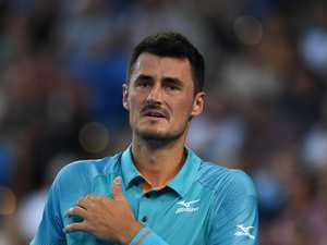 Tomic 'risks life', does the unthinkable