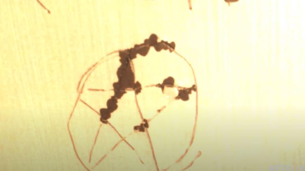 Disturbing scenes from Night Stalker: The Hunt For a Serial Killer.