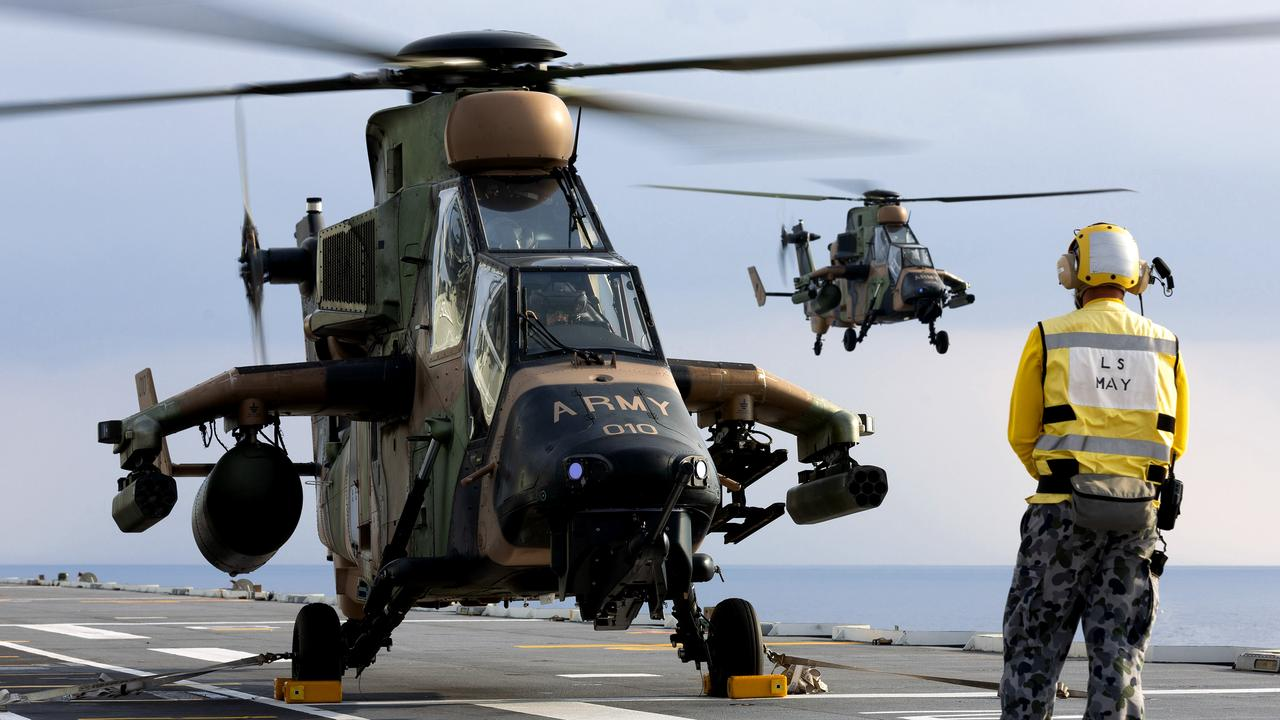 Australia's Tiger armed reconaissance helicopters are being replaced.