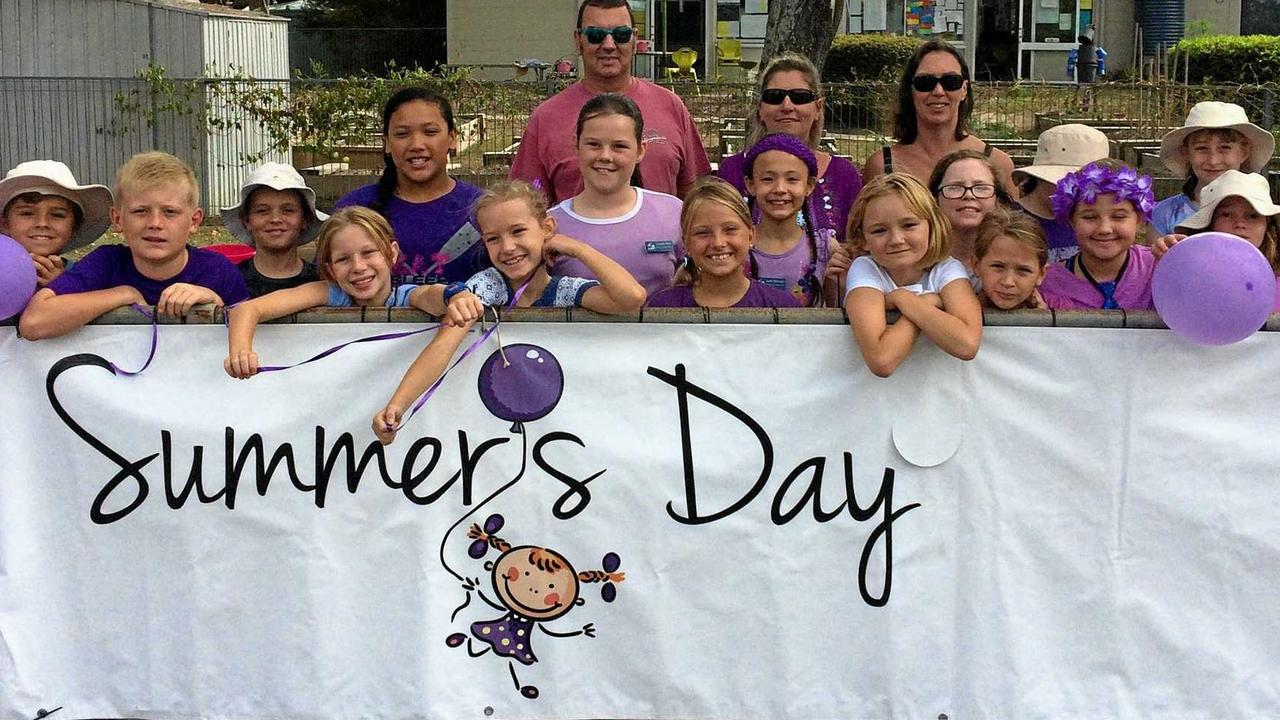 Tewantin State School has been turning out for Summer's Day to raise awareness of the dangers of button batteries and to remember Summer Steer.