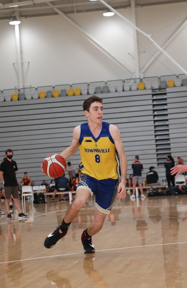 Townsville Heat star Rory Hawke. Picture: Basketball Queensland