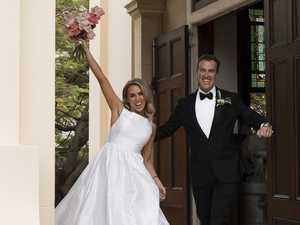 Inside TV star's stunning rooftop nuptials