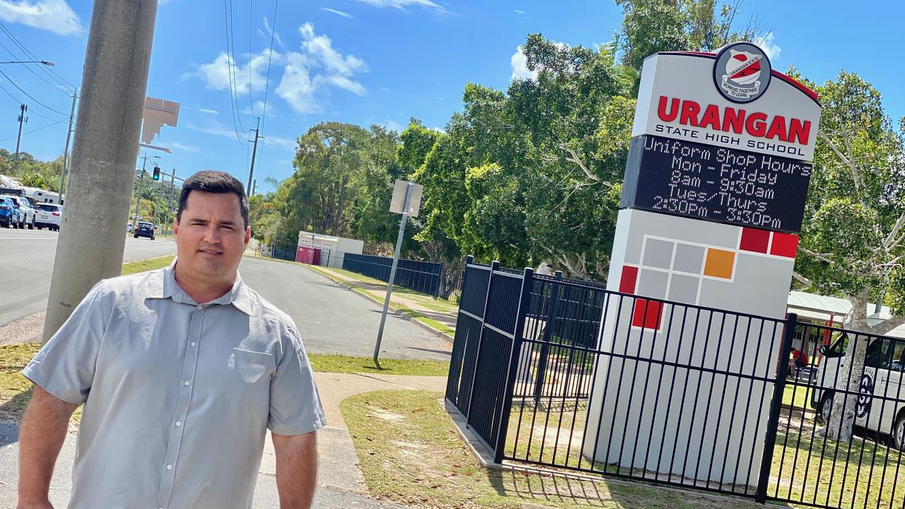 Former Fraser Coast councillor and former Hervey Bay state election candidate Stuart Taylor still thinks a new state high school would be appropriate.