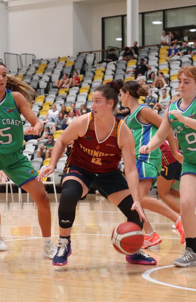 Logan Thunder guard Mackensie Auton. Picture: Basketball Queensland