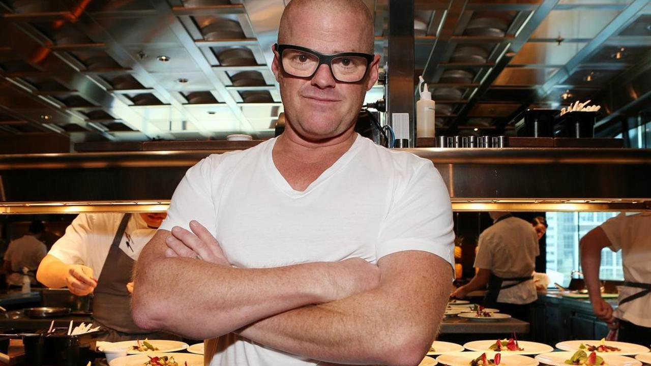 Celebrity chef Heston Blumenthal.