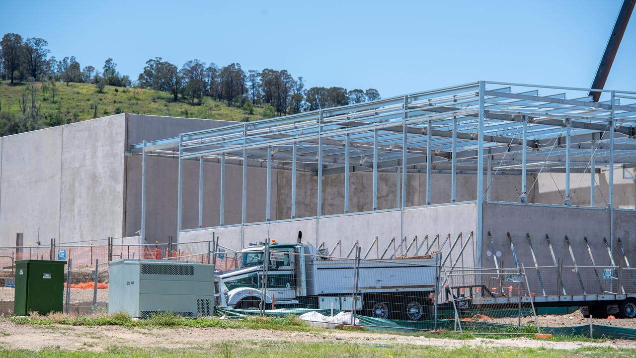 Bunnings Warehouse Plainland development, January 15, 2021. PHOTO: Ali Kuchel