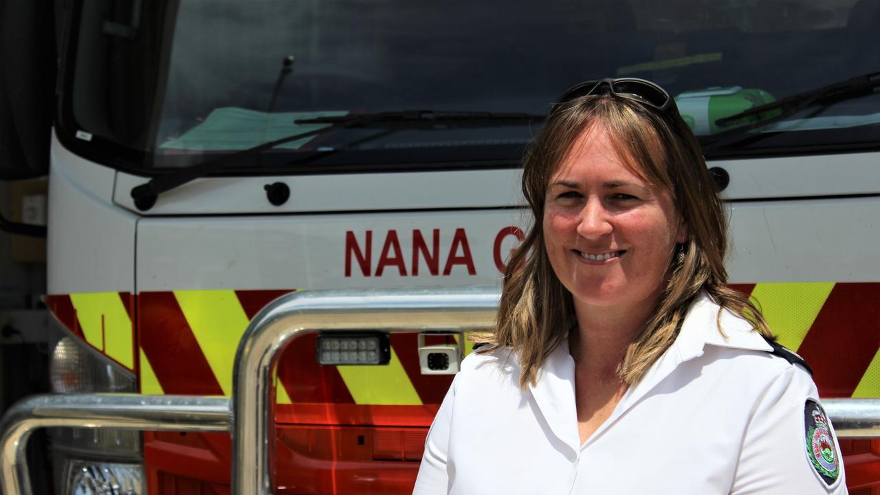 District services coordinator, Rachael Eggins of the NSW Rural Fire Service Mid North Coast. Photo: Tim Jarrett