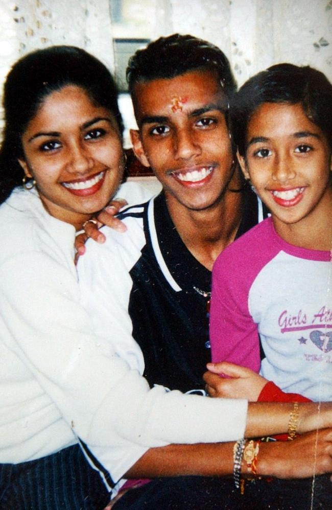 Neelma, 24, Kunal, 18, and Sidhi Singh, 12, whose bodies were found in a Bridgeman Downs home in Brisbane.