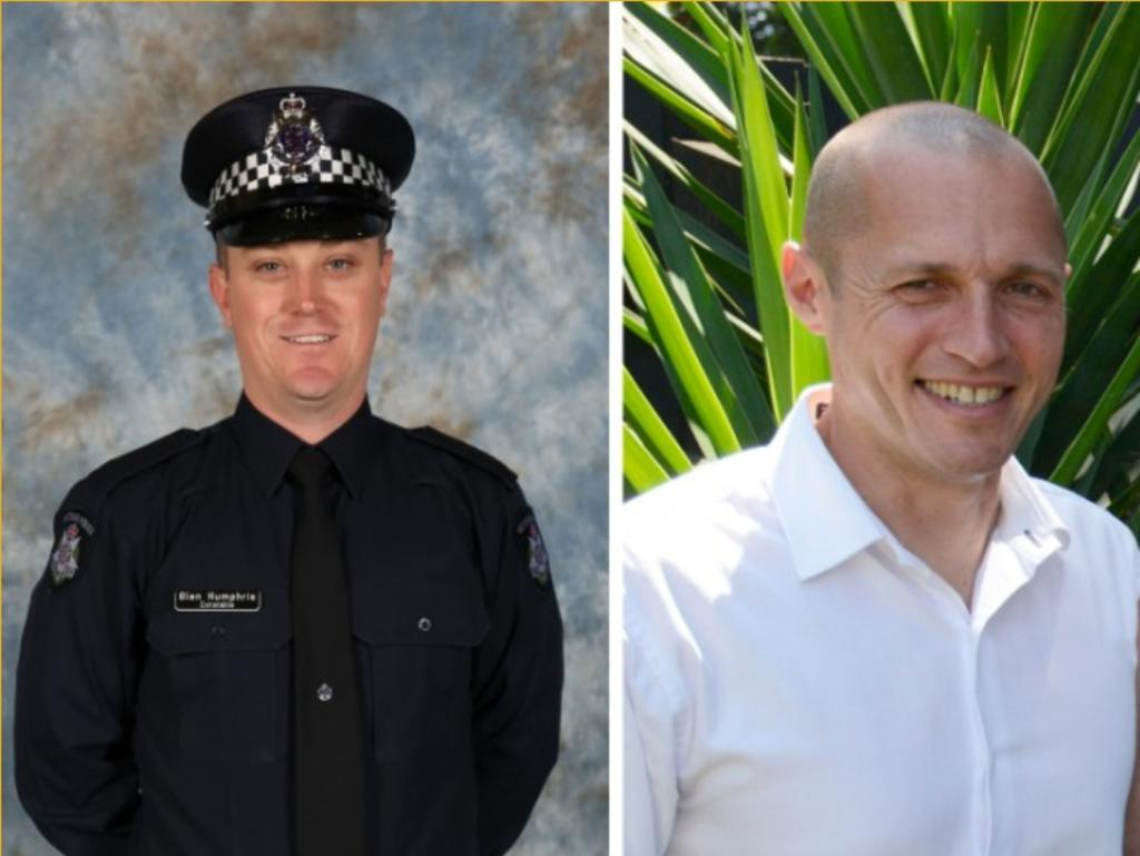 Constable Glen Humphris and Senior Constable Kevin King were also killed. Picture: Supplied by Victoria Police