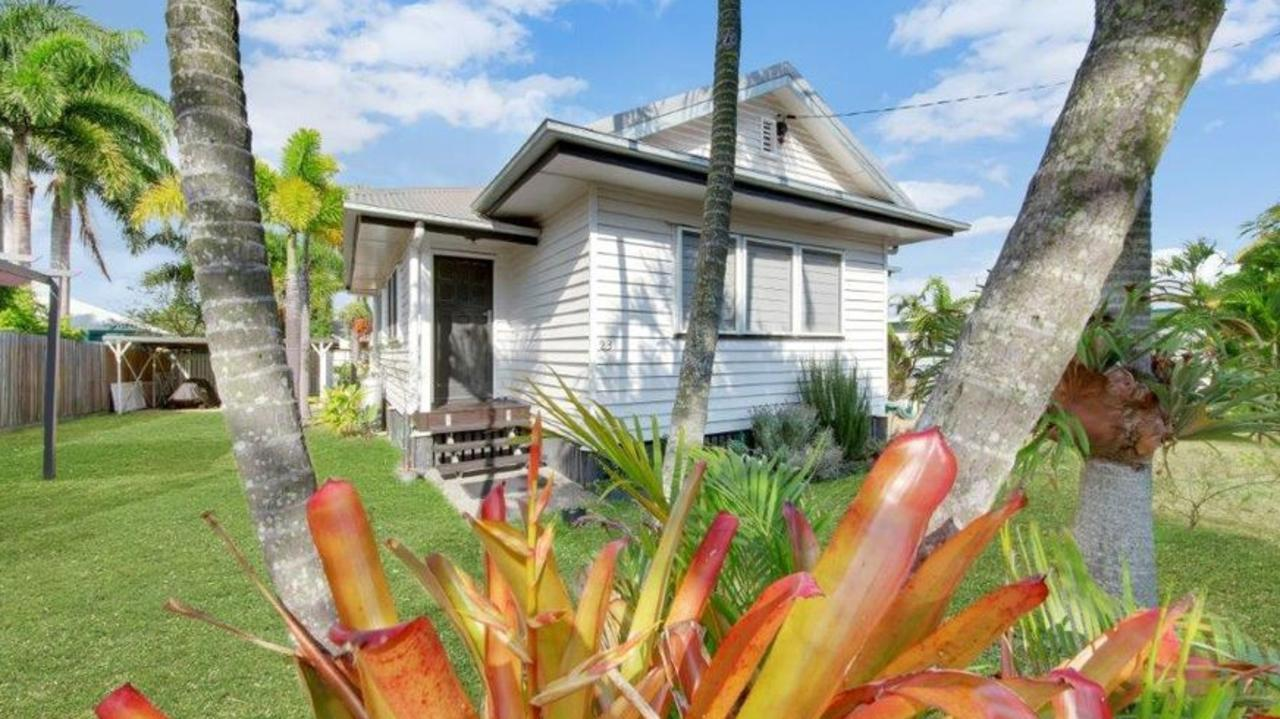 This renovated three-bedroom house on 622 sqm and just a walk to the beach at 23 Golding St, Barney Point, is on the market for only $279,000.