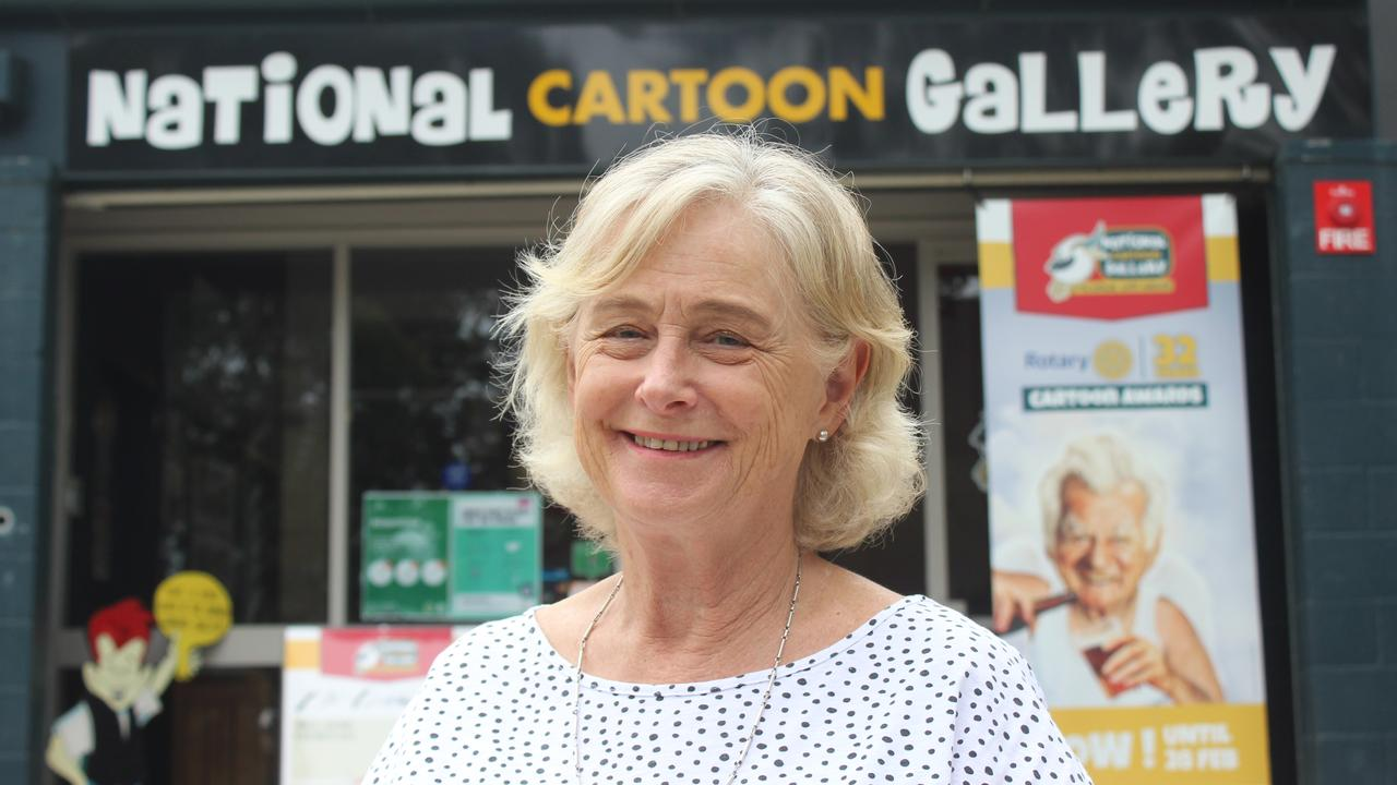 Work on the $2m Bunker Cartoon Gallery redevelopment will soon be complete with gallery manager Margaret Cameron announcing it is due to open in mid-February 2021. Photo: Tim Jarrett