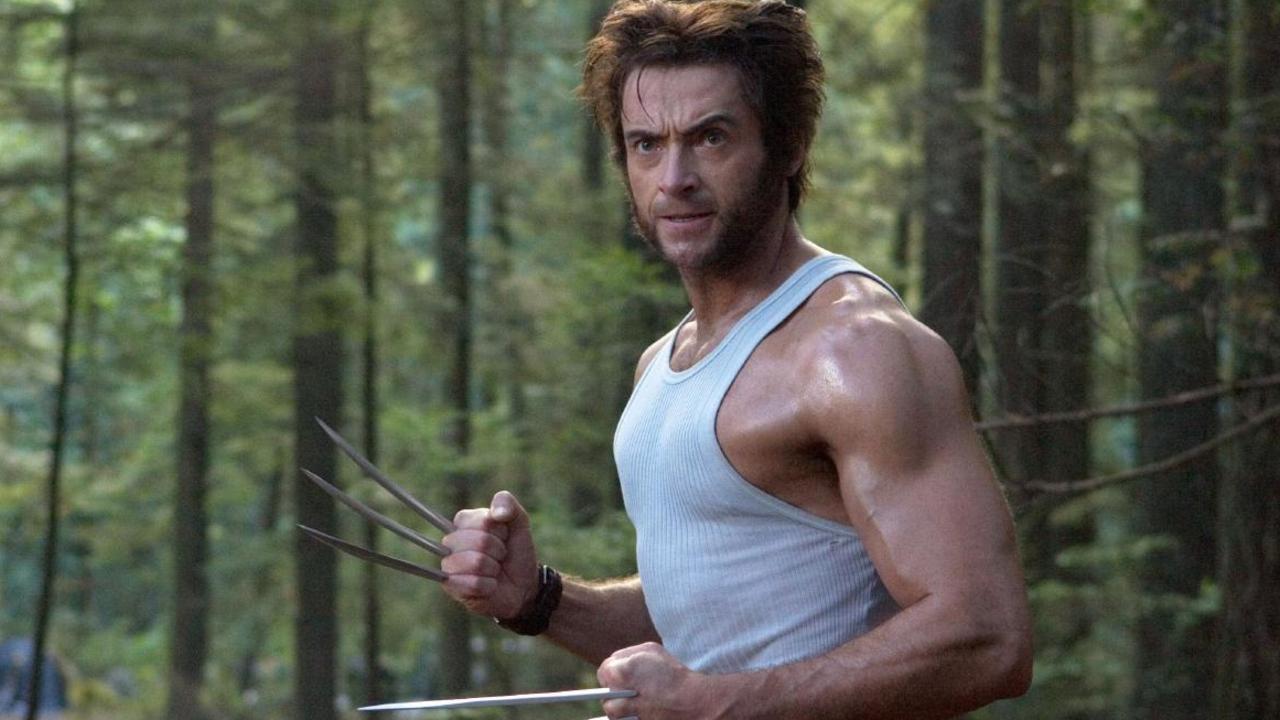 Aussie star Hugh Jackman playing his Wolverine role.