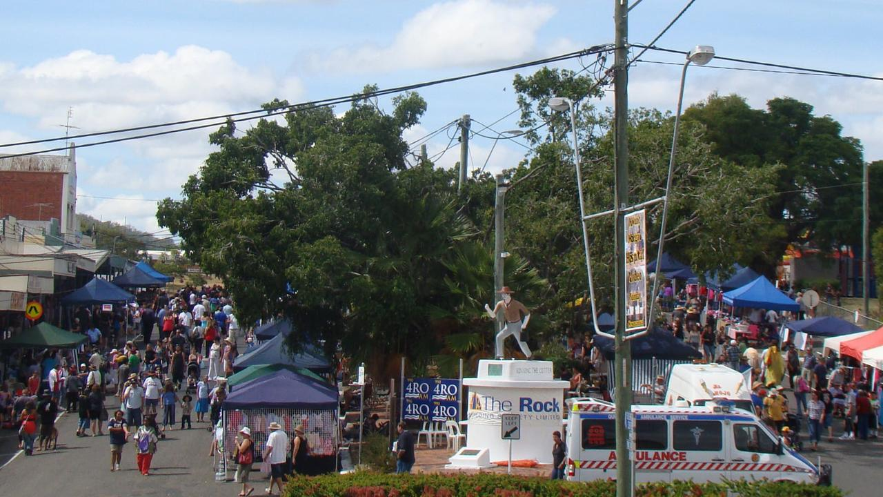 Mount Morgan's Golden Mount Festival attracts hundreds of peopleeach year.