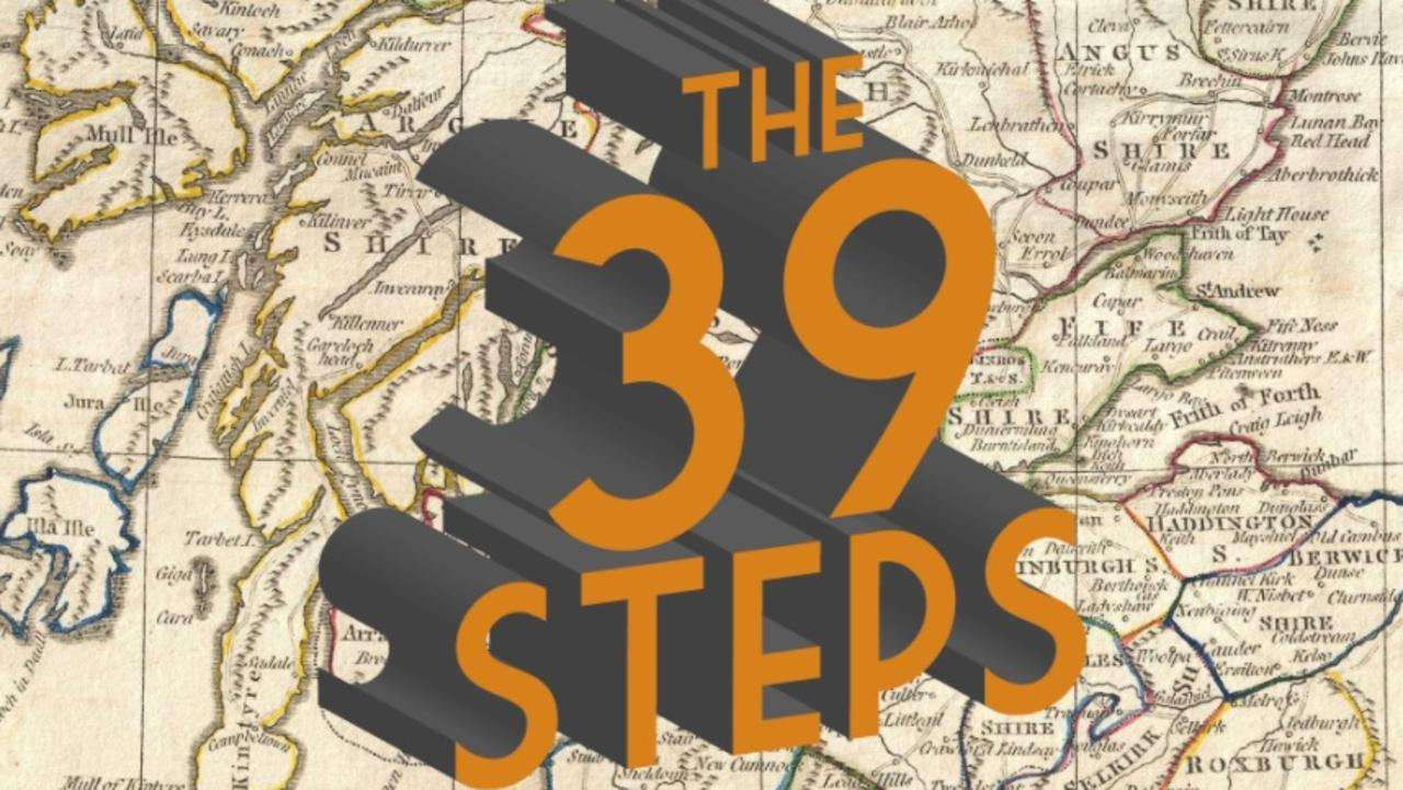 The madcap spy thriller The 39 Steps is playing at the Jetty Memorial Theatre from January 16-23.