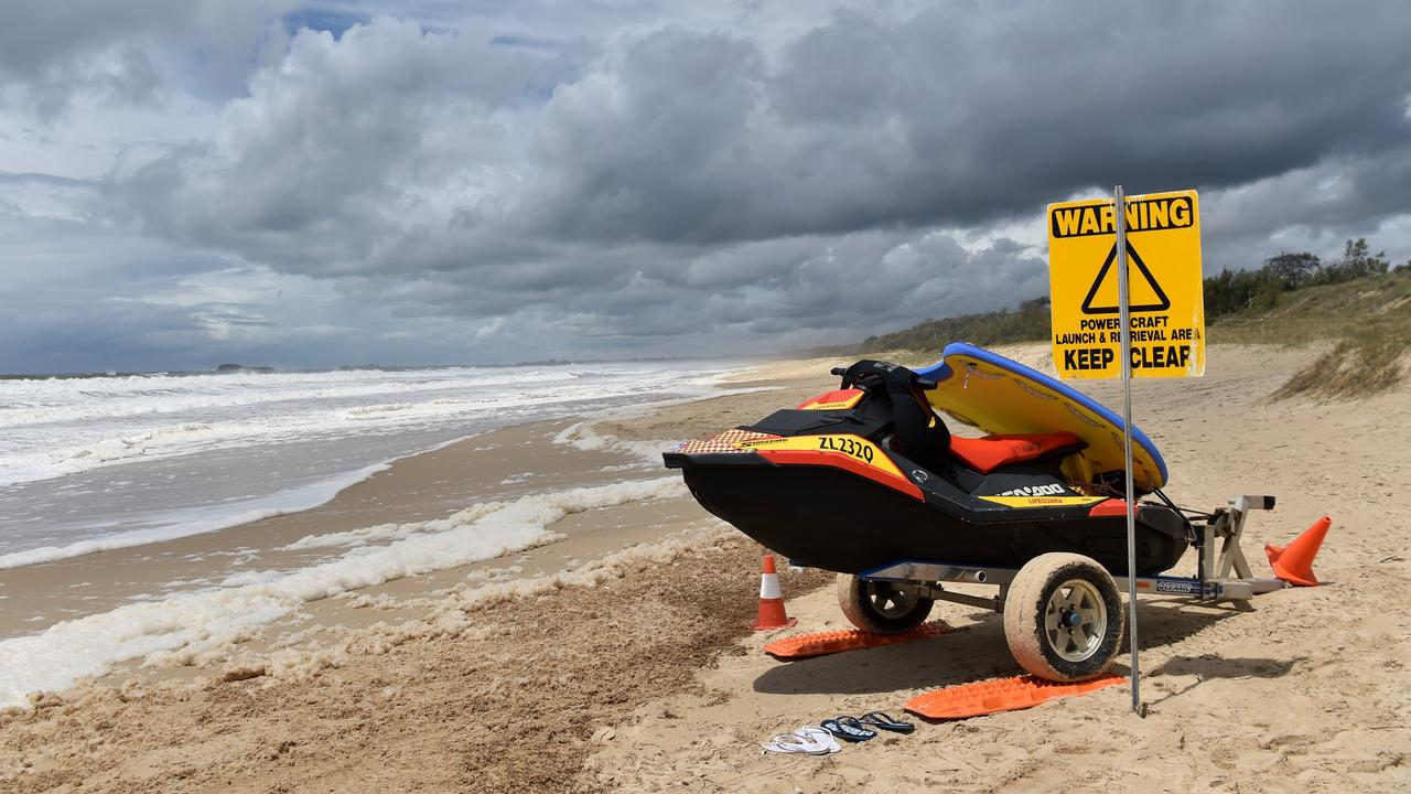 Lifesavers reported five rescues at Marcoola beach on Saturday. Picture: File