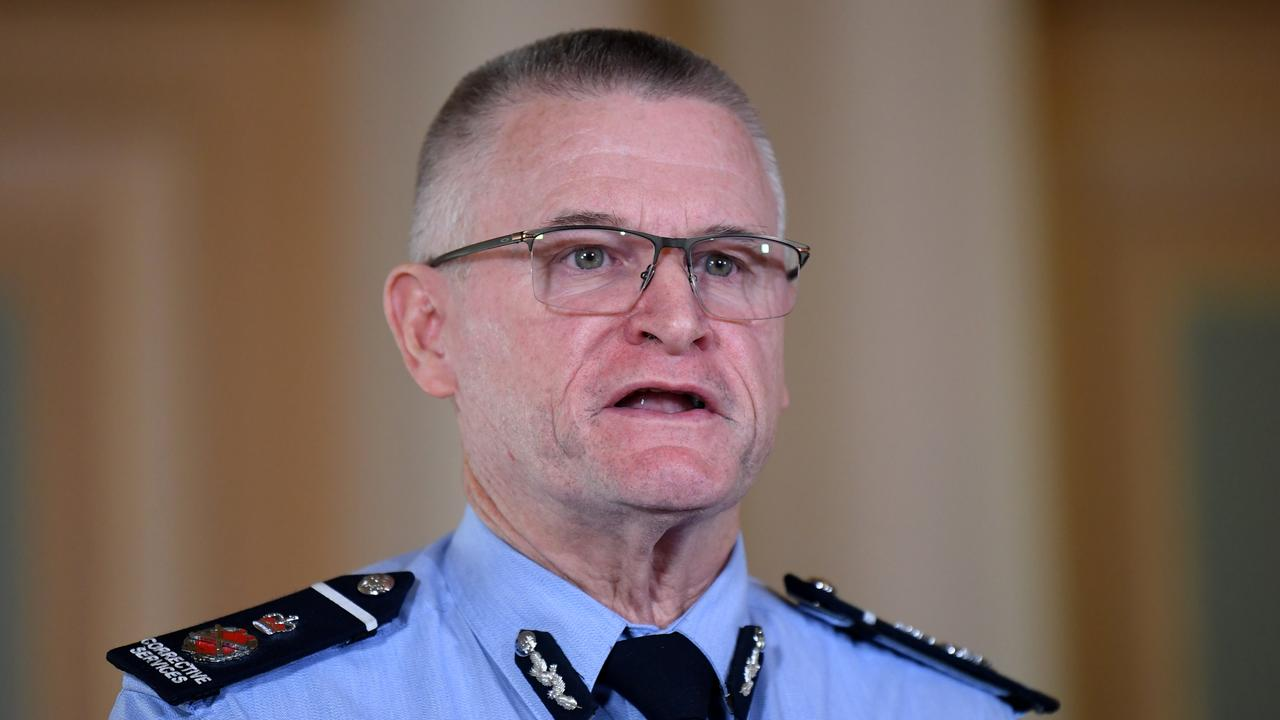 Queensland Corrective Services Commissioner Peter Martin. Picture: NCA NewsWire / Dan Peled