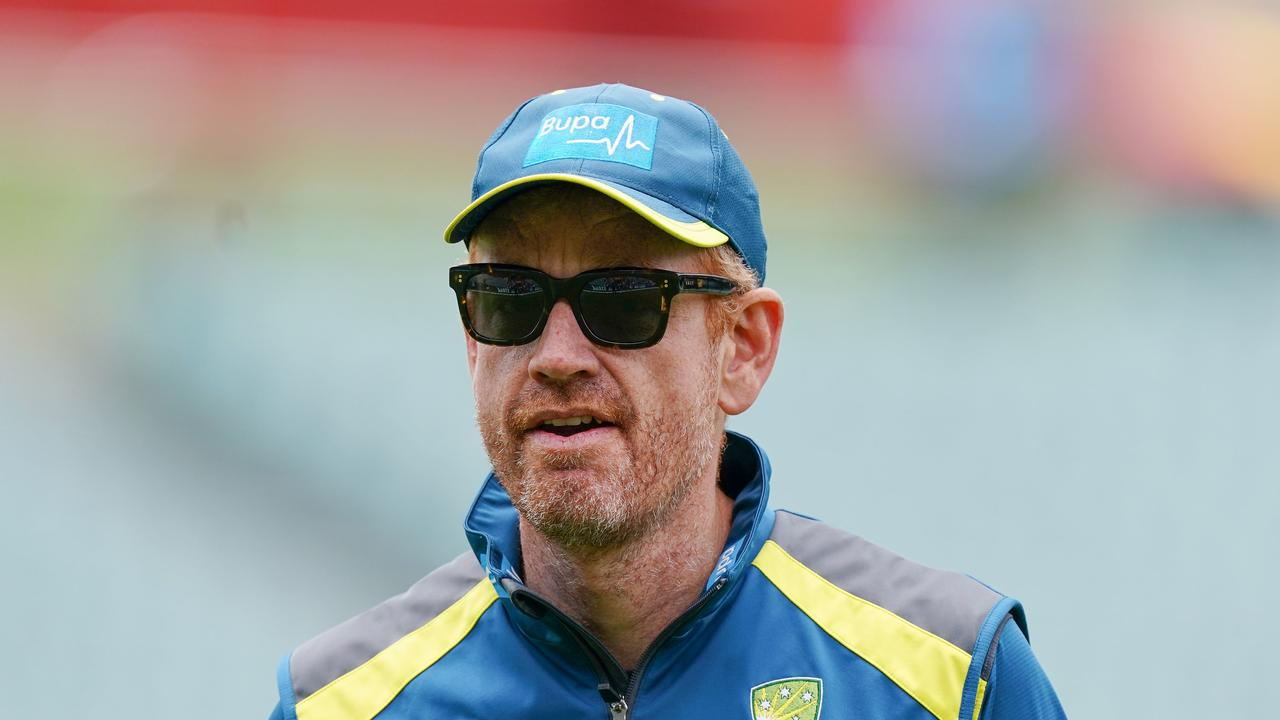 Assistant coach Andrew McDonald will take control of the T20 side on the New Zealand tour. Picture: AAP