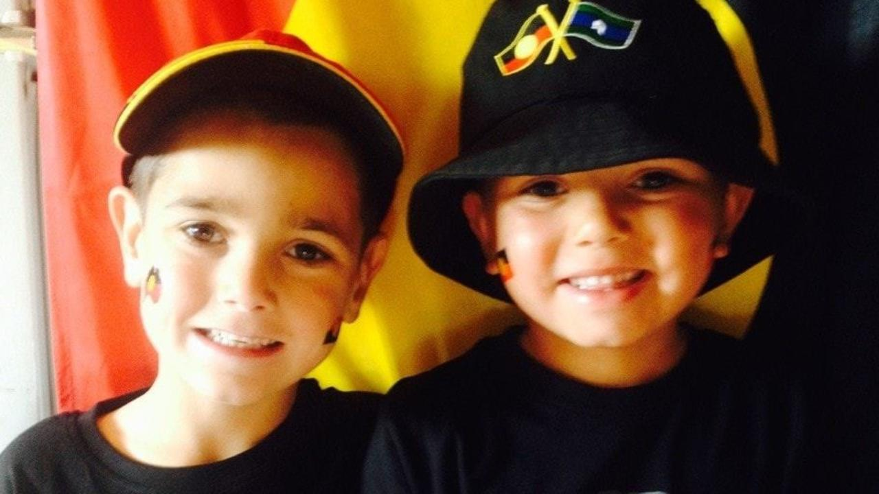 Sheldon, 6, and Shane Shorey, 7, were killed in a car crash in Wellington. Picture: Facebook
