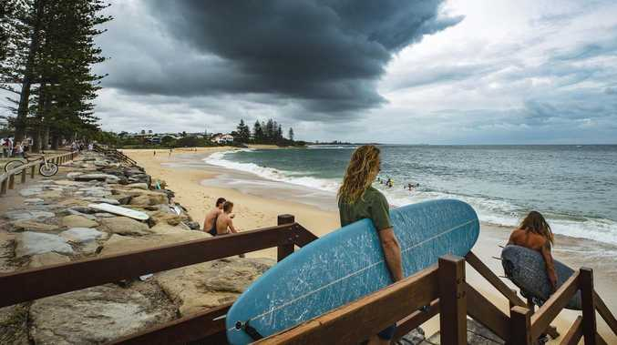 Coast in firing line as storms set to lash region