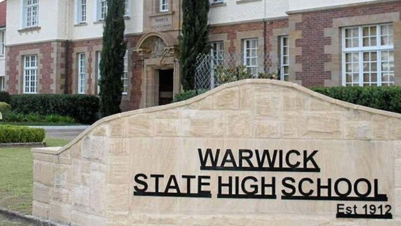 UPGRADES: Warwick State High School upgrades get underway in time for the 2021 school year.