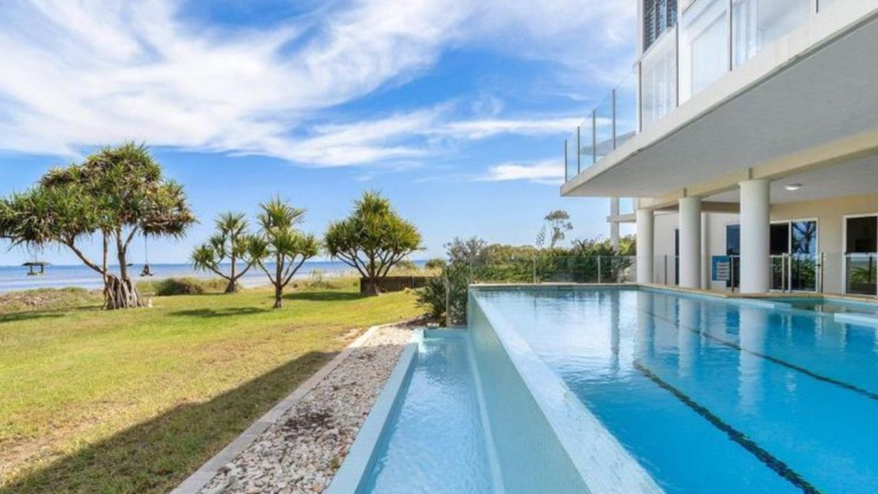 The multi-award winning home at 2 Louise Drive, Beachmere, is up for sale for more than $5 million. Photo: Acreage and Lifestyle Property