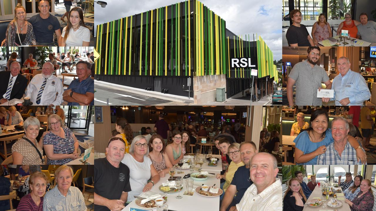 Gympie RSL Grand Opening. Pictures: Kristen Camp