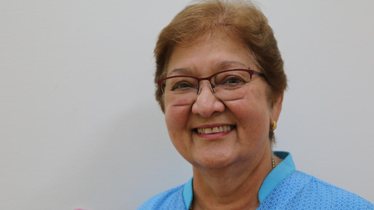 St Francis Residential Aged Care Grafton registered nurse Rajender Lamont, who came out of retirement to help address a shortage of aged care registered nurses in Grafton.