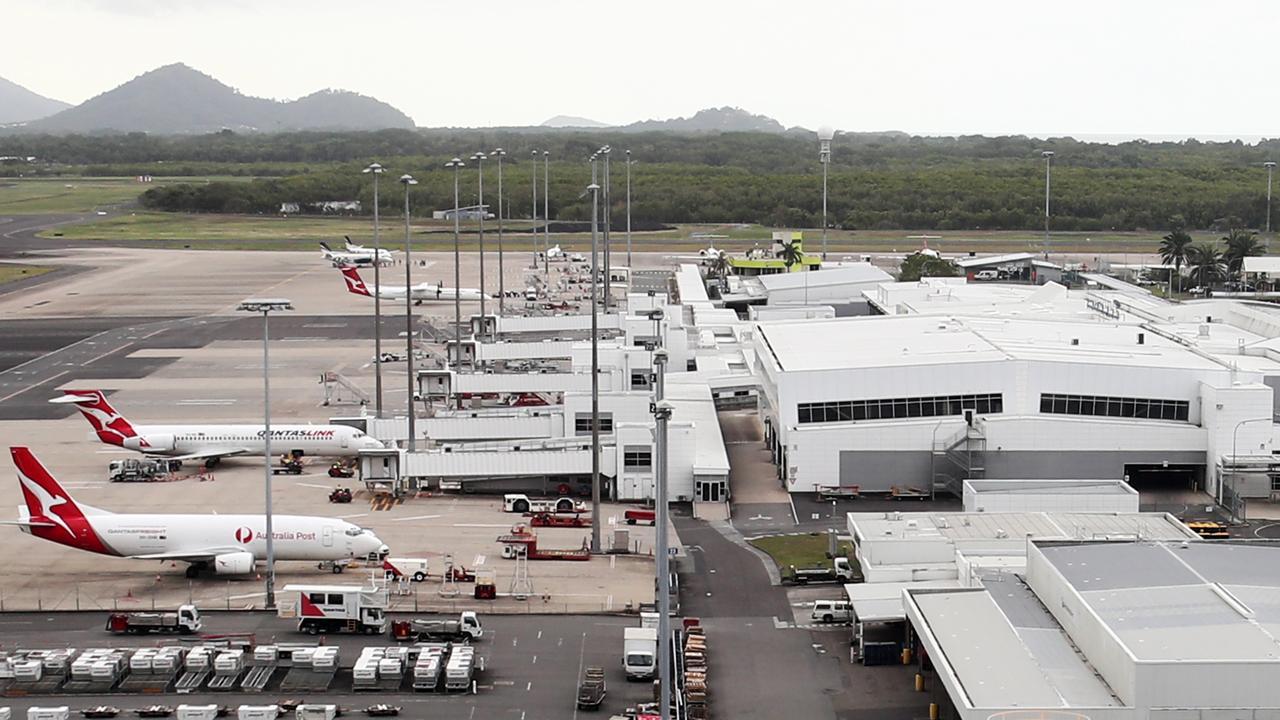 The Cairns Airport domestic terminal. PICTURE: BRENDAN RADKE