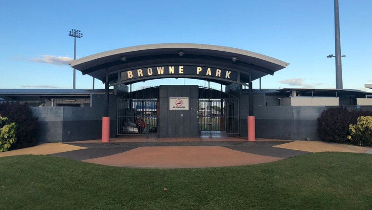 Browne Park stadium in Wandal. Picture: Contributed