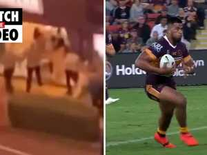 Brisbane Broncos star Payne Haas arrested after alleged brawl