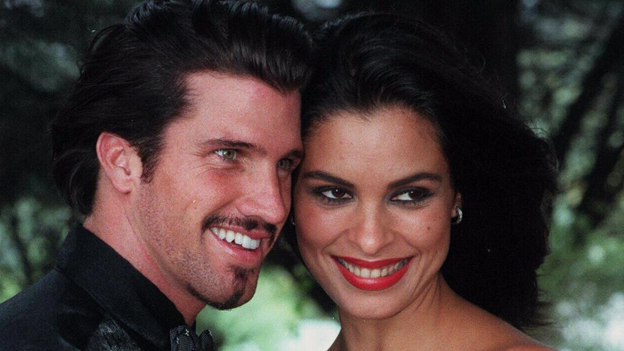 Travers Martin-Beynon in 1998 when he married Miss World 1992, Nini Beth Leal of Venezuela.