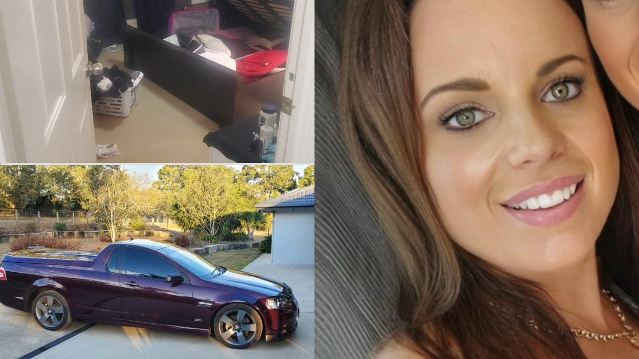 Lauren Peell's Blacksoil home was broken into with $20,000 in tools and camping gear stolen along with other items. Her Holden Commodore ute was also taken.