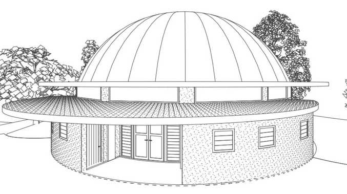 Domed meditation hall proposed for rural retreat
