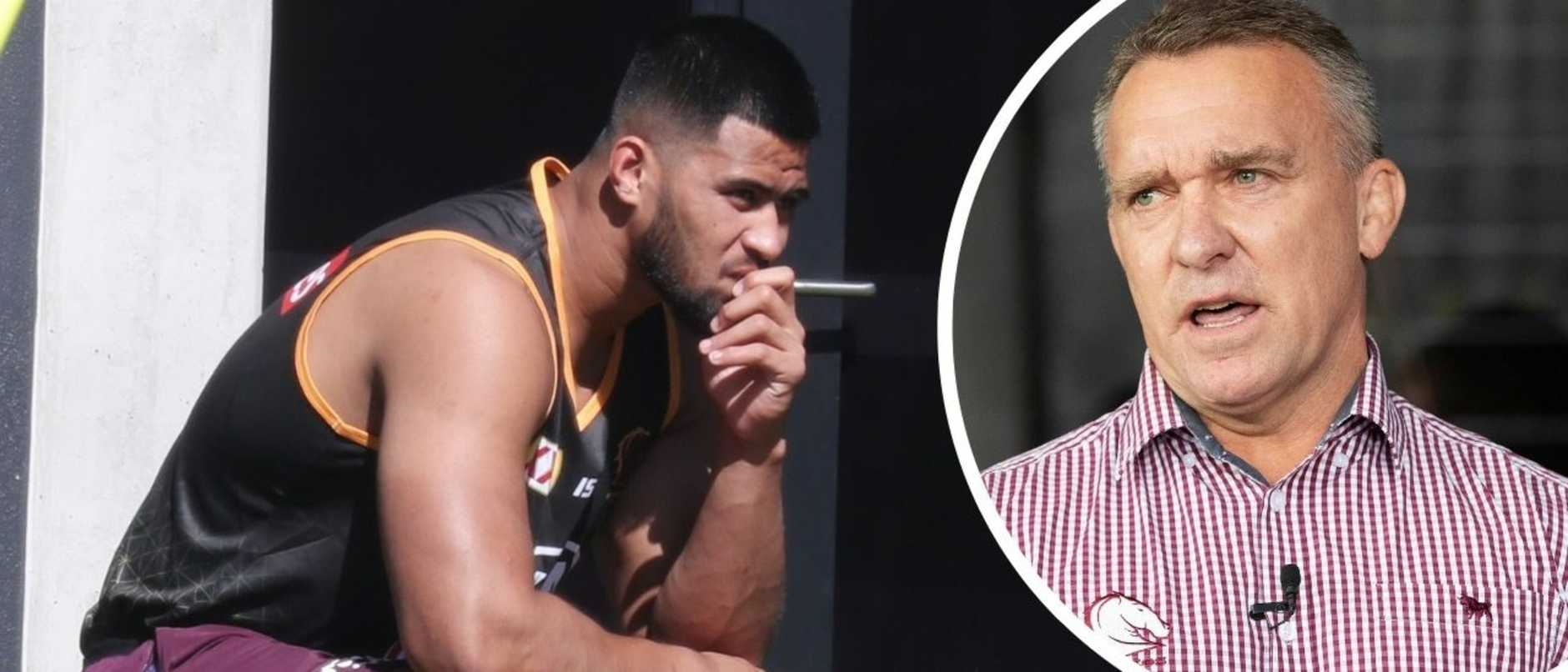 Payne Haas 'will suffer consequences' for arrest, Broncos boss Paul White says
