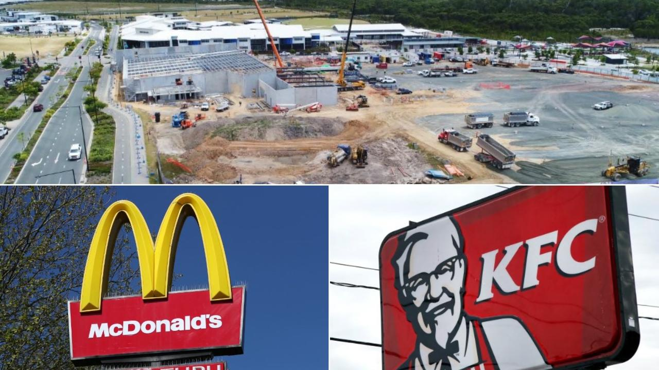 Developer Stockland expects some fast food businesses will be included in its Aura estate by the end of next year.