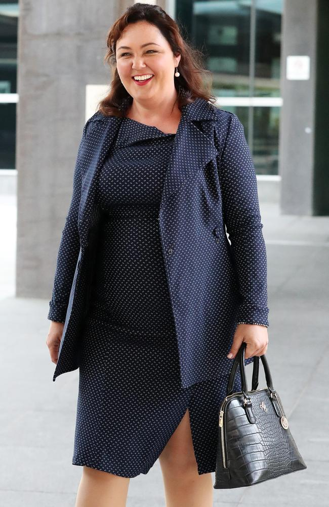 Street Swags founder Jean Madden at a prior court appearance