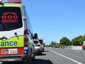 Three teens hurt in multi-vehicle smash at North Ipswich