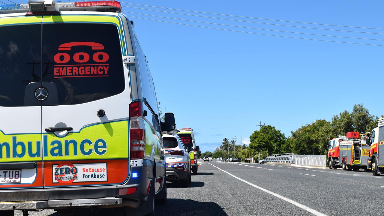 Three teens are injured after a two-vehicle collision at North Ipswich. Pic: file photo