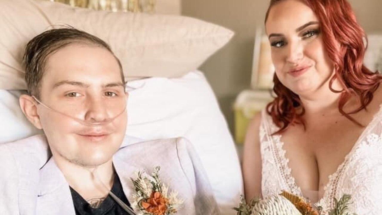 Brandon Sanewski married the love of his life Erin on Thursday, January 14.