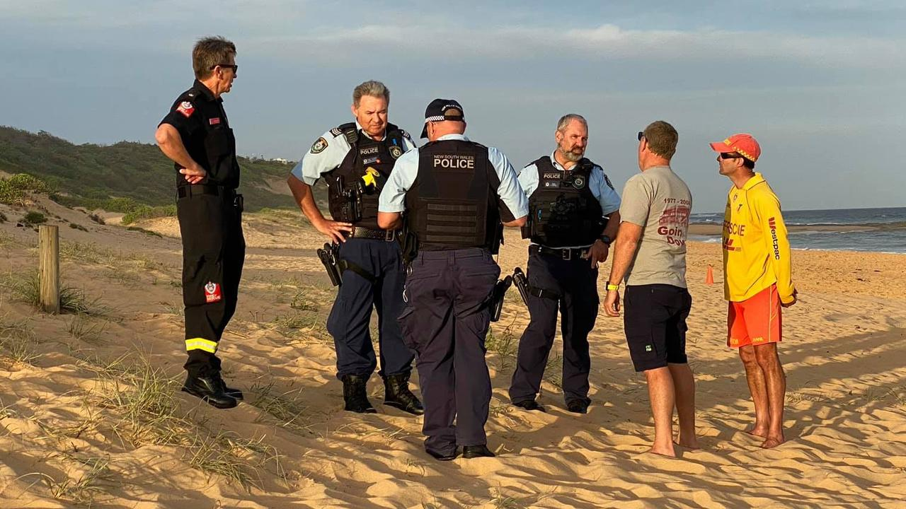 Fire crews called after lifeguards find 'grenade' on Central Coast beach