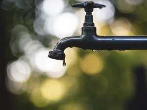 Water supply interruption at Finch Hatton