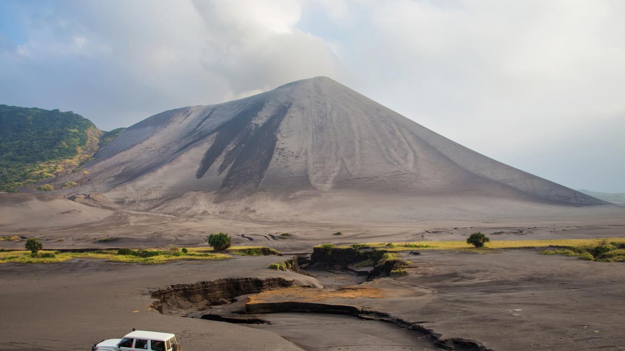 Volcano Yasur on Tanna Island, Vanuatu. Picture: Istock