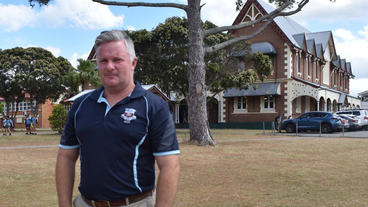 Maryborough State High School Principal Simon Done. Photo: Stuart Fast