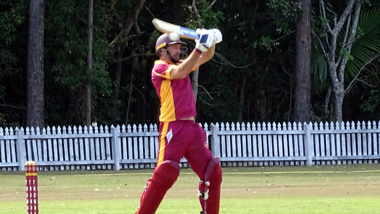 Tewantin-Noosa's Chris Wright brought his career tally at Read Park to 4168 runs over the weekend.