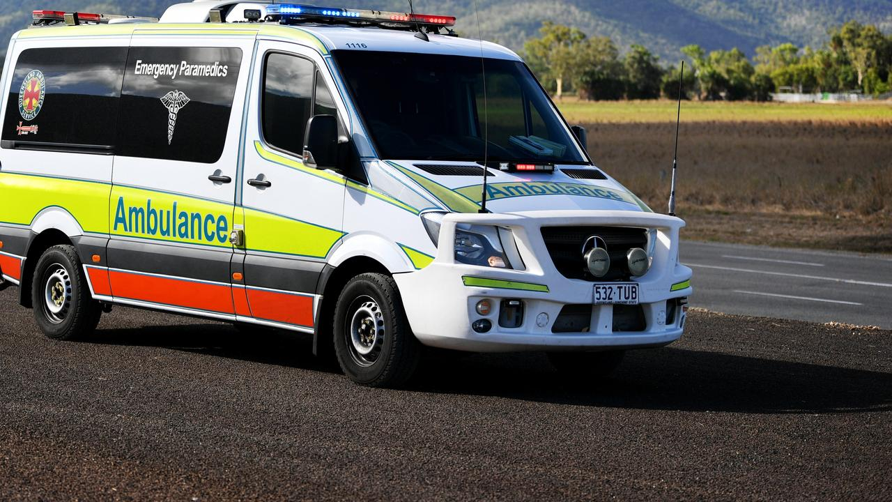 A woman was taken to Gympie hospital following a crash last night at Kybong.