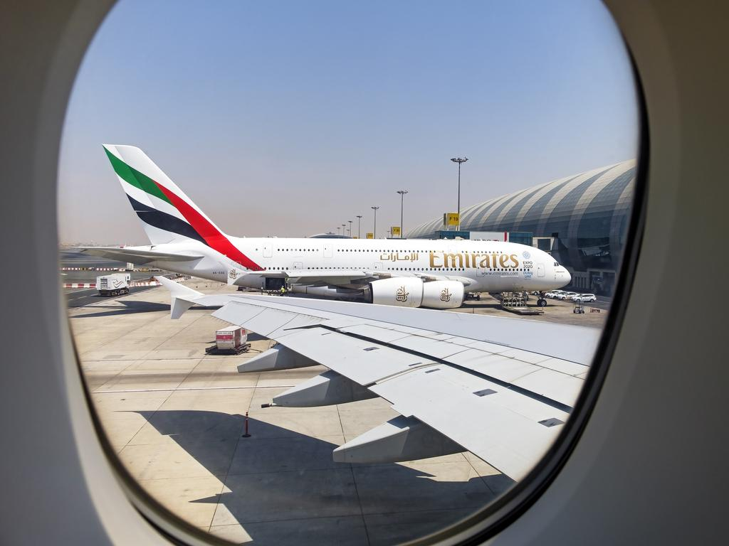 Emirates has suspended flights to Sydney, Brisbane and Melbourne.
