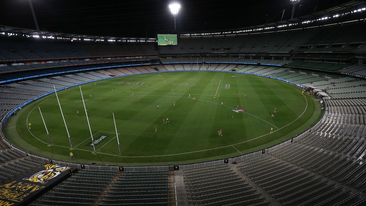 Hawks chief calls for 50 per cent crowd capacity when footy restarts