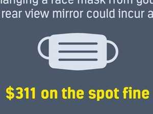 Drivers blast 'crazy' $311 mask fine