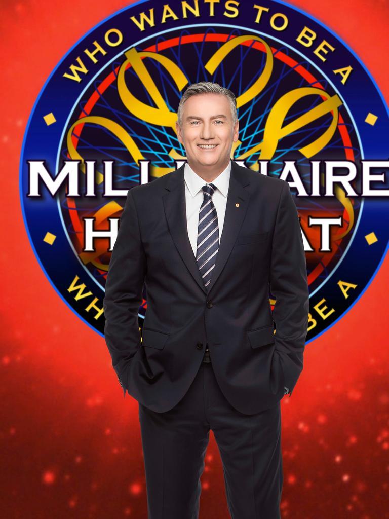 Eddie McGuire hosts Millionaire Hot Seat.